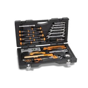 2041UC.Utility Case με συλλογή με 33 εργαλεία