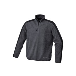 7632G.Μπλούζα fleece με επιθέματα πολυέστερ