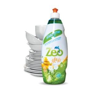 Zeo Glass - Υγρό απορρυπαντικό για πιάτα 750ml